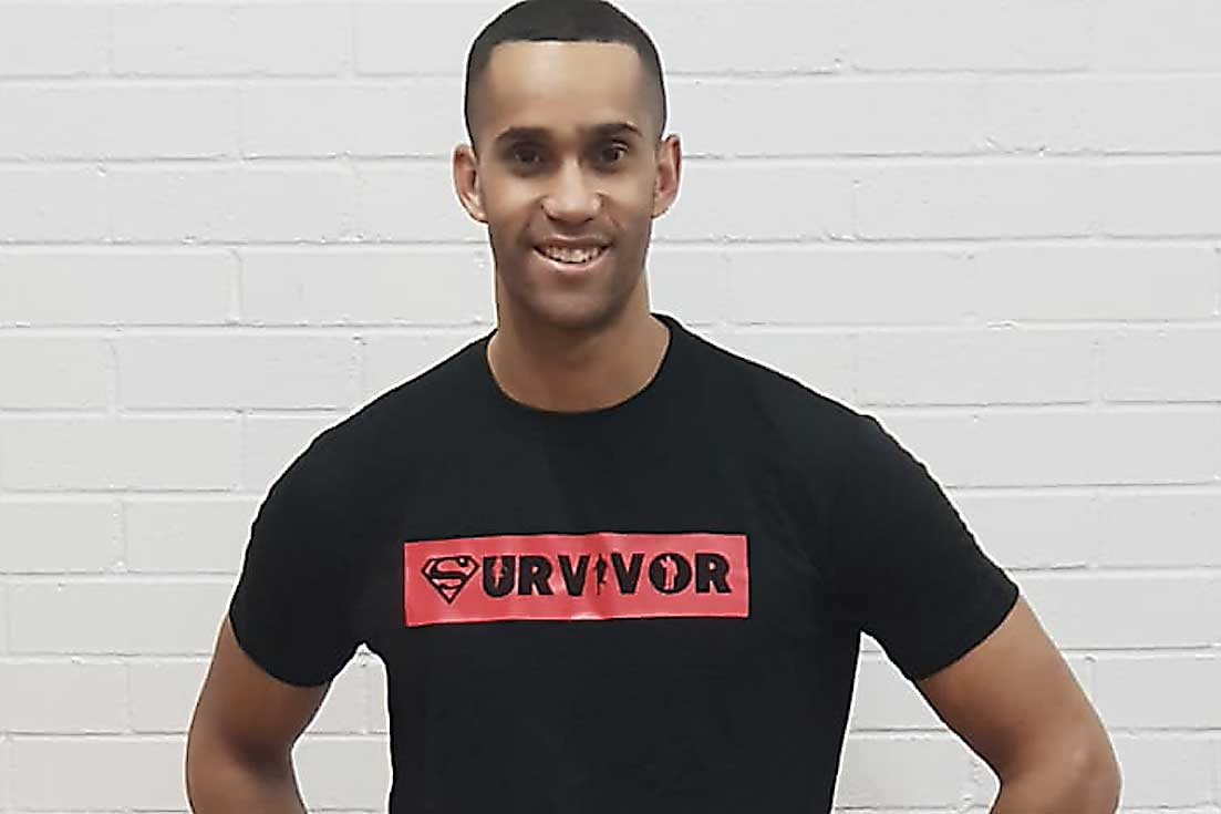 Invincible Bootcamp survivor male
