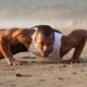 beach pushup