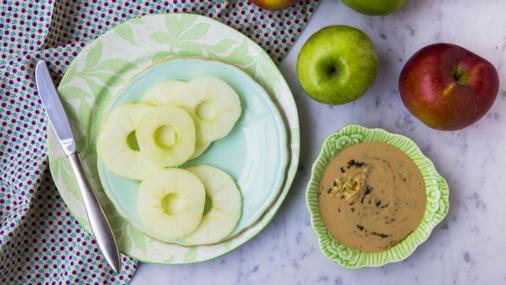 apple rings with ginger