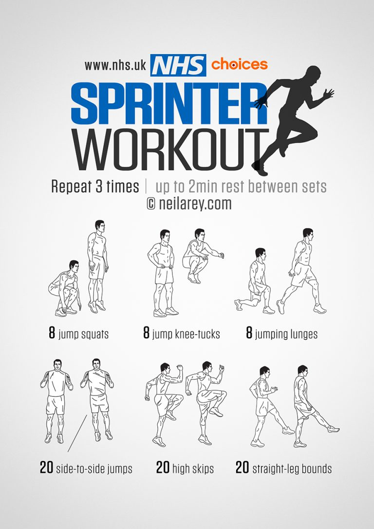 Sprinter exercise