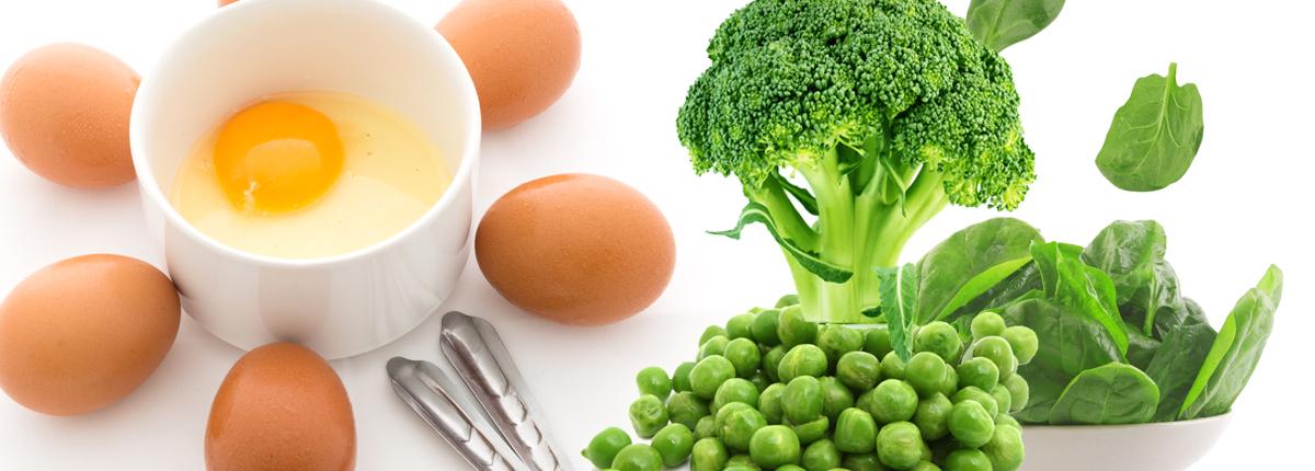 Egg and veg recipe