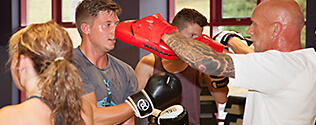 boxing circuits on 28 Days of Fitness