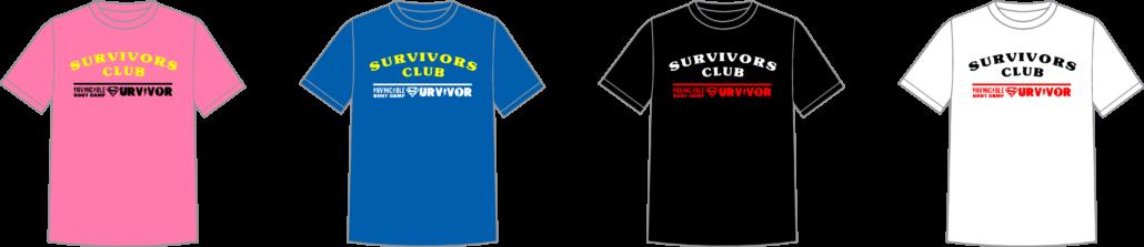 Survivor Colours