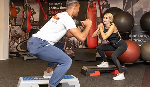 personal training fitness home